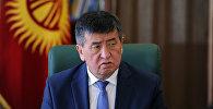 Архивное фото премьер-министра Кыргызской Республики Сооронбая Жээнбекова