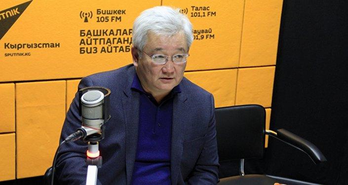 Кыргыз-орус өнүгүү фондунун төрагасы Кубанычбек Кулматов