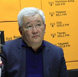 Председатель правления РКФР Кубанычбек Кулматов