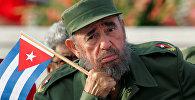 Куба мамлекетин жарым кылым башкарган белгилүү комендант Фидель Кастро. Архивдик сүрөт
