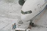 Жаандагы аэропорттогу абал. Архивдик сүрөт