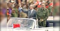 Фидель Кастро умер в возрасте 90 лет. Кадры с кубинским революционером