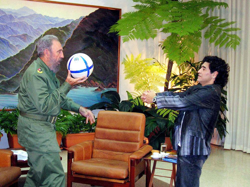 Кубинский революционер, государственный, политический и партийный деятель, руководитель Кубы в 1959—2011 годах Фидель Кастро