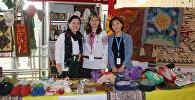 Стенд репродукций из Кыргызстана на международной благотворительной ярмарке ООН Базар — 2016