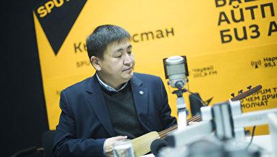 Төкмө акын Элмирбек Иманалиев. Архив