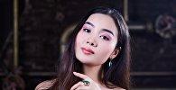 Москва шаарында Miss Asia Russia сынагынын кыргызстандык катышуучусу Динара Сулайманова