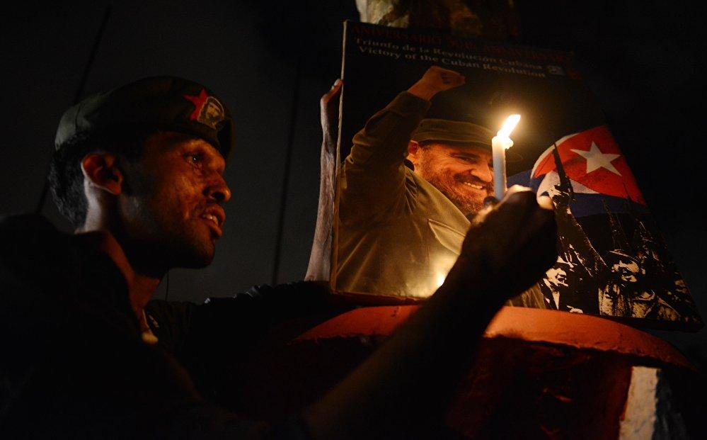 Фидель Кастро менен коштошуу зыйнаты. Кубалык лидер 90 жаш курагында дүйнө салды