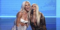 Торжественная церемония вручения музыкальных наград American Music Awards в Лос-Анджелесе
