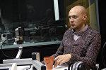 Архивное фото заведующего отделением реанимации Бишкекской станции скорой медицинской помощи Егора Борисова