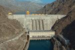 Күрп-Сай ГЭСинин бийиктиктен тартылган көрүнүшү