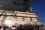 Бишкектин 7-кичи районунда жайгашкан жеке мектептеги өрт
