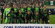 Футболисты бразильского клуба Шапекоэнсе. Архивное фото
