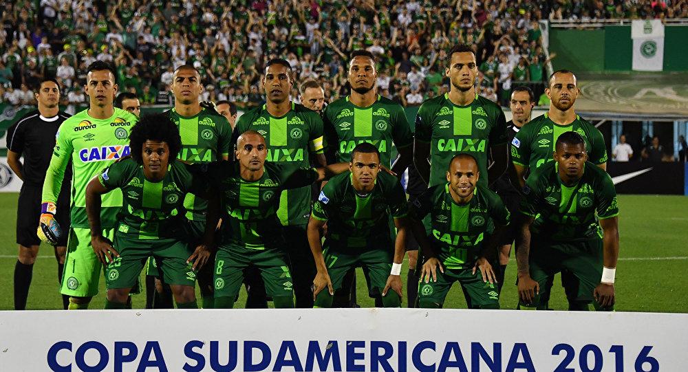Бразилиянын ШАПЕКОЭНСЕ футболдук клубунун архивдик сүрөтү