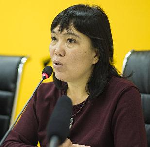 Советник мэра Бишкека Гуля Алмамбетова. Архивное фото