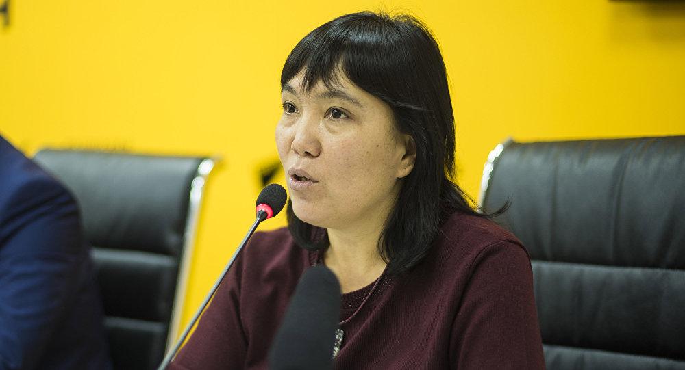 Бишкек мэриясынын маалымат кызматынын жетекчиси Гуля Алмамбетова