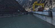 Токтогульское водохранилище на реке Нарын в Джалал-Абадской области. Архивное фото