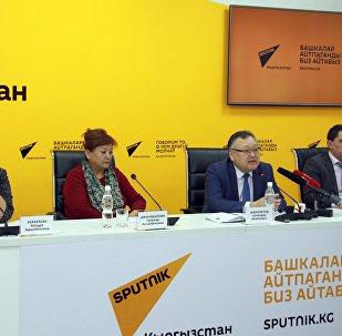 Пресс-конференция Текущая ситуация по заболеваемости ОРВИ в Бишкеке