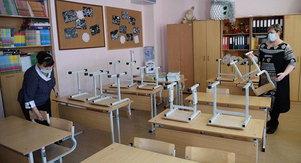 Школы Бишкека до12декабря закрыли накарантин