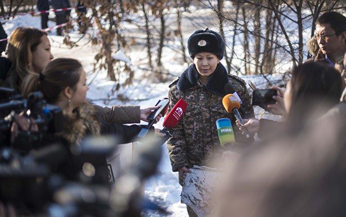 Руководитель пресс-службы МЧС КР Эльмира Шерипова