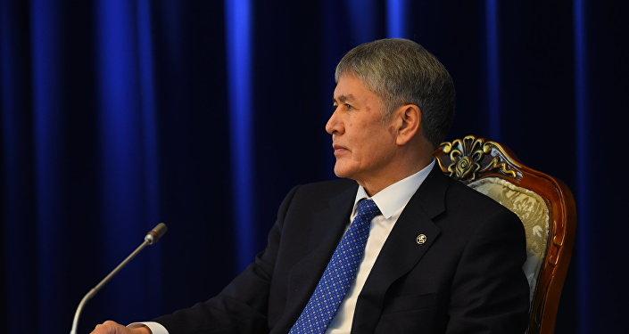 Атамбаев: Клеветники сравниваются сканнибалами, едящими собственных родителей