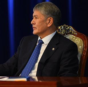Кыргызстандын президенти Алмазбек Атамбаев
