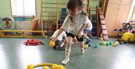 Воспитанница детского сада. Архивное фото