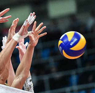 Волейбол оюну. Архивдик сүрөт