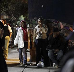 АКШ мигранттары. Архивдик сүрөт