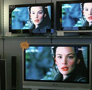Продажа плазменных телевизоров. Архивное фото