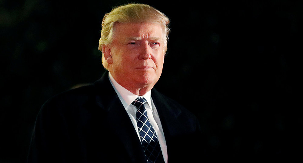 АКШнын президенти Дональд Трамптын архивдик суроту
