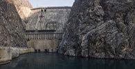 Токтогул ГЭСи. Архивдик сүрөт