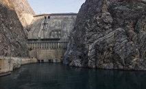 Плотина Токтогульской ГЭС в Кыргызстане. Архивное фото