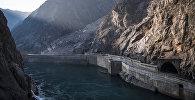 Кыргызстандагы Токтогулдук гидроэлектростанциясы. Архив
