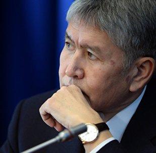 Архивное фото президента КР Алмазбека Атамбаева