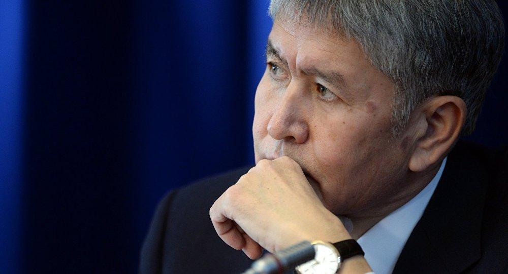 Алмазбек Атамбаев отказался отвысоких постов