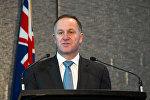 Жаңы Зеландиянын премьер-министри Жон Кейнин архивдик сүрөтү