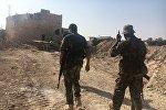 Бойцы сирийской армии на юге Алеппо. Архивное фото