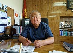 Республикалык инфекциялык оорукананын башкы дарыгери Гүлжигит Аалиевдин архивдик сүрөтү