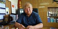 Жугуштуу оорулар ооруканасынын башкы дарыгери Гулжигит Аалиев. Архив