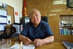 Республикалык инфекциялык оорукананын реанимация бөлүмүнүн башкы дарыгери Гүлжигит Аалиевдин архивдик сүрөтү