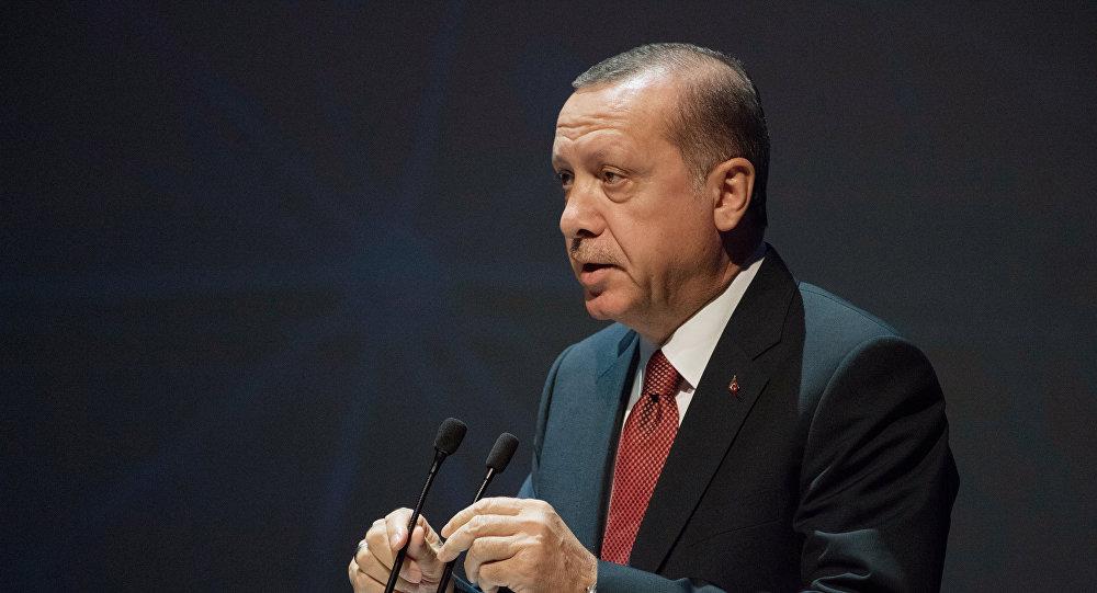 Түркия президенти Режеп Тайип Эрдогандын архивдик сүрөтү