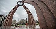 Архитектурный ансамбль на Площадь победы. Архивное фото