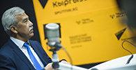 Бишкек шаардык Тез жардам балдар клиникалык ооруканасынын башкы дарыгери, профессор Талант Өмүрбеков