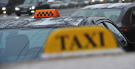 Автомобили такси. Архивное фото