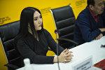 Кыргызстандык кинорежиссер Ника Жолдошеванын архивдик сүрөтү