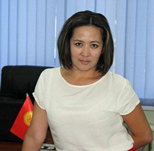 Экологиялык жана техникалык коопсуздук боюнча маминспекциясынын маалымат катчысы Анара Мамбеталиева