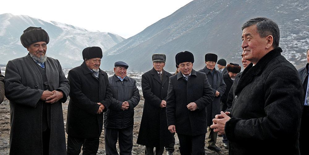 Рабочая поездка премьер-министра Сооронбая Жээнбекова в Ошскую область
