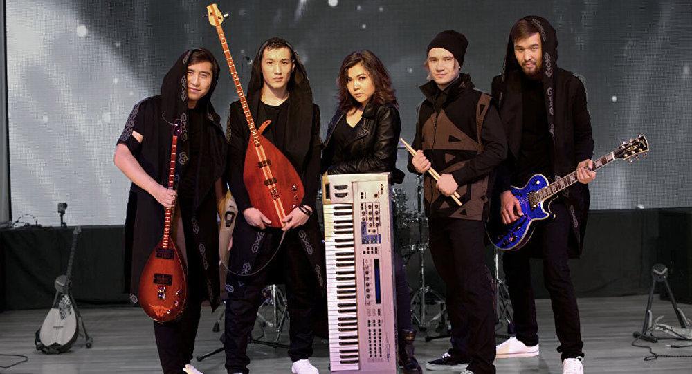 Казахстанская рок-группа Novaliveband. Архивное фото