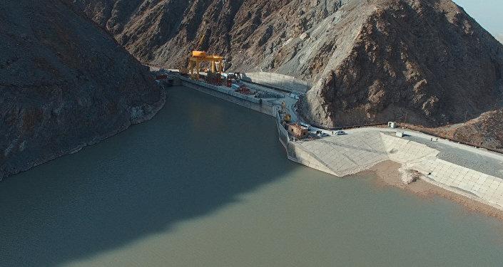 Камбар-Атинская ГЭС-2. Архивное фото