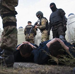Кыргызстандын спецназы. Архивдик сүрөт